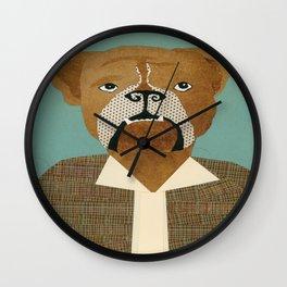 Mike The Bulldog Wall Clock
