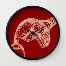Copper Keét Blood Wall Clock