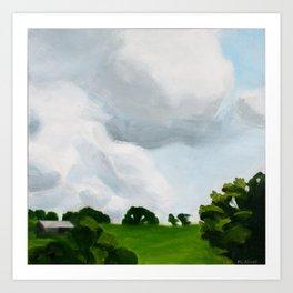San Rafael Sky 1 Art Print