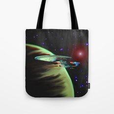 Enterprise NCC 1701D Tote Bag
