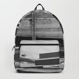 Old Wooden Boat Backpack
