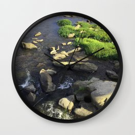 Rocks in the James Wall Clock