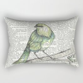 Green Is Cool Rectangular Pillow