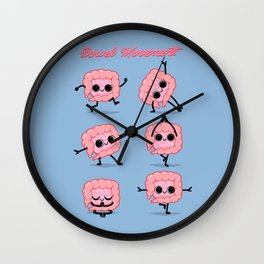 Bowel Movement Wall Clock