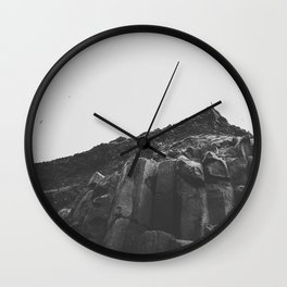 Reynisdrangar Rocks Wall Clock