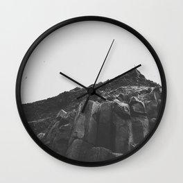 Reynisdrangar Rocks Wall Clock