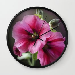 Raspberry Sorbet Wall Clock