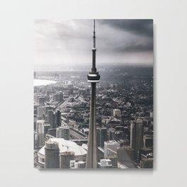 toronto aerial  Metal Print