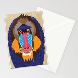 Funky Monkeys Stationery Cards