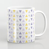 southwest Mugs featuring Southwest Triangles by Kara Peters