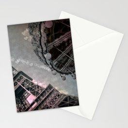 I Dream of Paris Pink Gray Stationery Cards