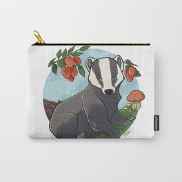 Autumnal Badger Carry-All Pouch