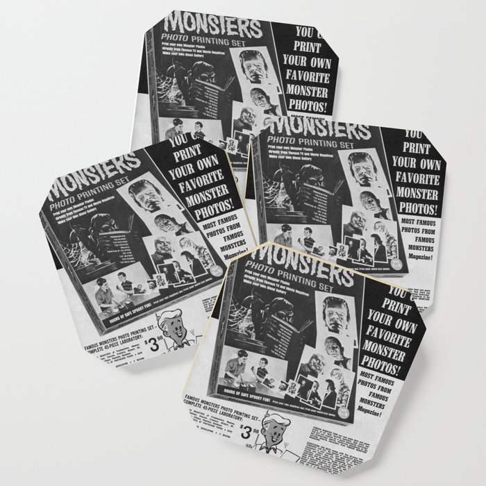 picture regarding Printable Coasters referred to as Printable Monsters Coaster by means of timpangburn
