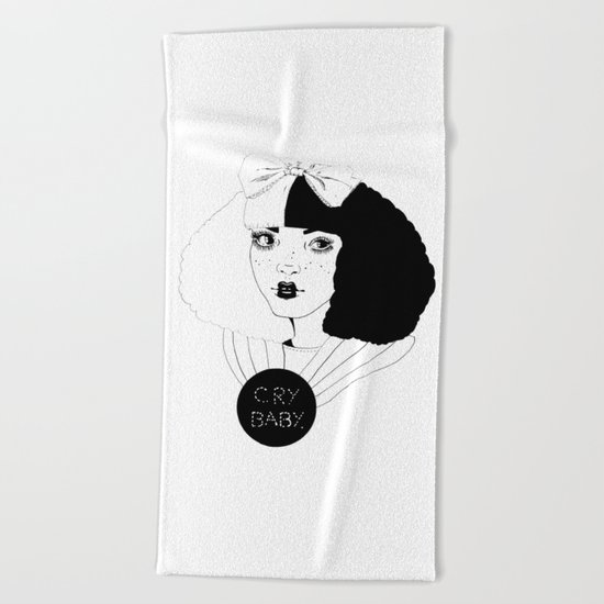 YOU CAN BE ALICE, I'LL BE THE MAD HATTER. Beach Towel