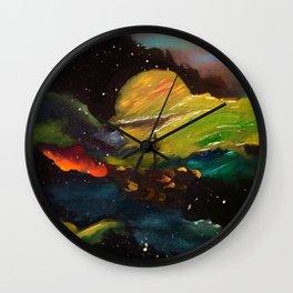 Galaxy Discing Wall Clock