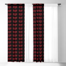 Strange Ham Radio Operator Blackout Curtain
