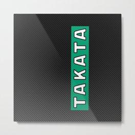 Takata Carbon Metal Print