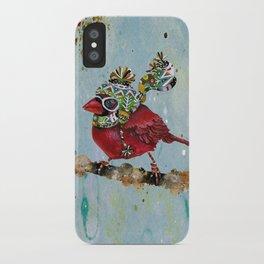 Cardinal Blaze iPhone Case