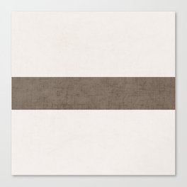 cream and brown classic Canvas Print