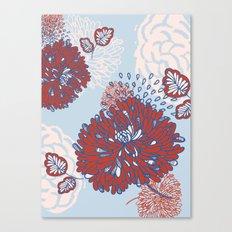 Crisantemo Canvas Print