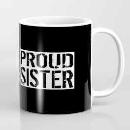 Firefighter: Proud Sister (Thin Red Line) Coffee Mug