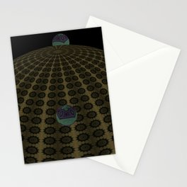 Unfitting Frame Orbitals 12 Stationery Cards