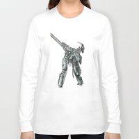 metal gear Long Sleeve T-shirts featuring Metal Gear Solid LS  by Hisham Al Riyami