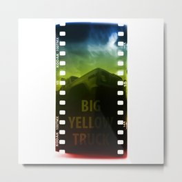 BIG YELLOW TRUCK Metal Print