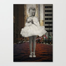 Urban prayer Canvas Print