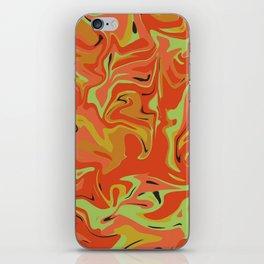 Papaya Juice iPhone Skin