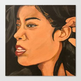 Mila J Music Block Canvas Print