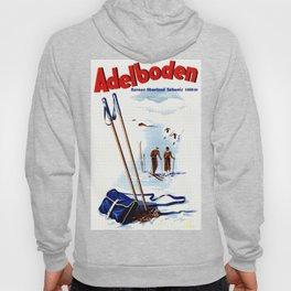 Vintage Adelboden Switzerland Ski Travel Hoody