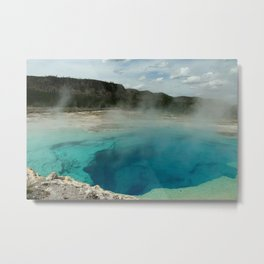 The Emerald Pool Colors Metal Print