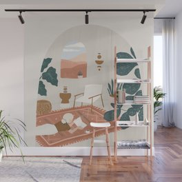 the living room rug Wall Mural