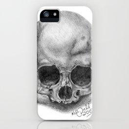Shadow Skull iPhone Case