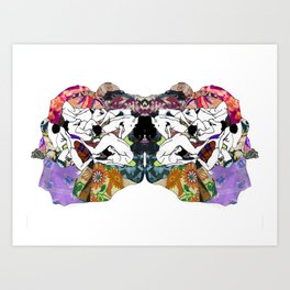 Psychological sex Art Print