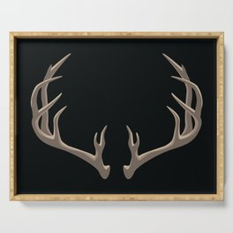Antlers Serving Tray