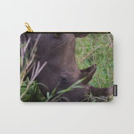 White Rhino in Hluhluwe-Imfolozi Park Carry-All Pouch