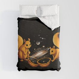Universe In a Nutshell Duvet Cover