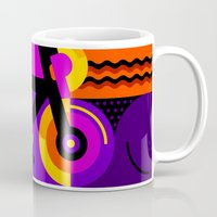 bicycle Mugs featuring Bicycle by koivo