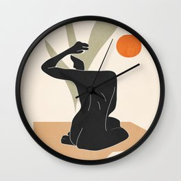 Nude Wall Clock