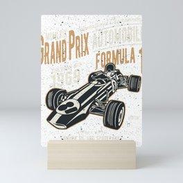 Grand Prix Automobile Formula 1 Mini Art Print