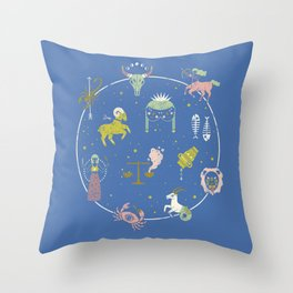 Strange Fortunes: Dreamscape Throw Pillow