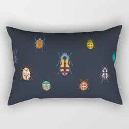 Beautiful bugs Rectangular Pillow