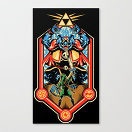 Epic Triforce of the Gods Canvas Print