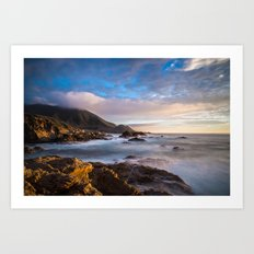California Coast 4 Art Print