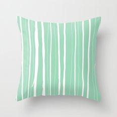 Vertical Living Mint Throw Pillow
