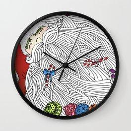 Santa Claus Wall Clock