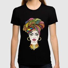 African Woman's Portrait T-shirt