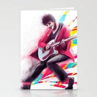 darren criss Stationery Cards featuring Listen Up Darren Criss by Ines92